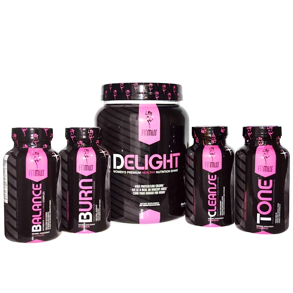 FitMiss, HerBizzyDiet, Weight-Loss Program, Chocolate Delight, 5 Part Program (Discontinued Item)