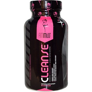 FitMiss, Cleanse, Women's Quick Cleanse & Daily Detox System, 60 Capsules