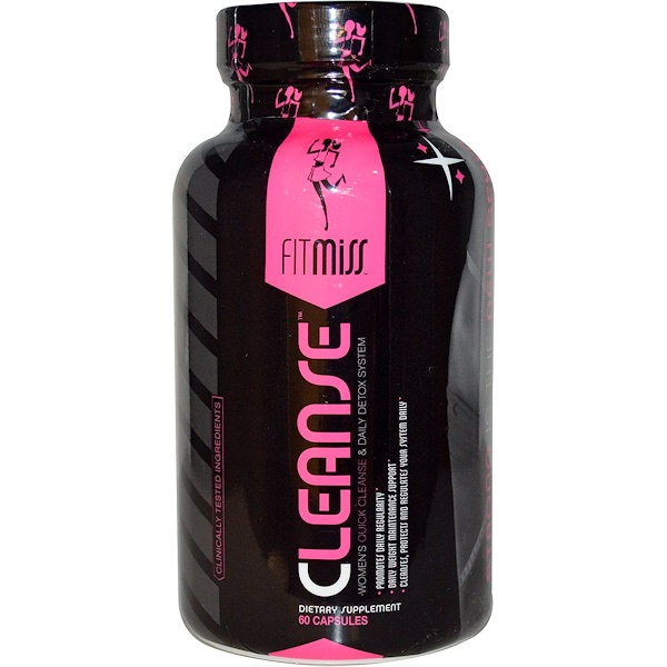 FitMiss, Cleanse, Women's Quick Cleanse & Daily Detox System, 60 Capsules (Discontinued Item)