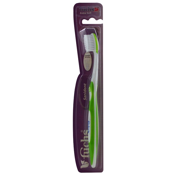 Fuchs Brushes, Sanident Toothbrush, Extra Soft, 1 Toothbrush (Discontinued Item)