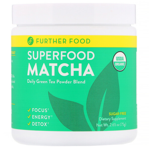 Superfood Matcha, 2.65 oz (75 g)