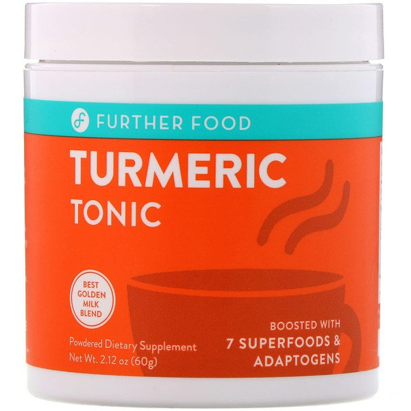 Further Food, Turmeric Tonic, 2.12 oz (60 g)
