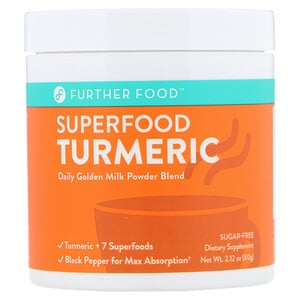 Further Food, Superfood Turmeric, 2.12 oz (60 g) отзывы