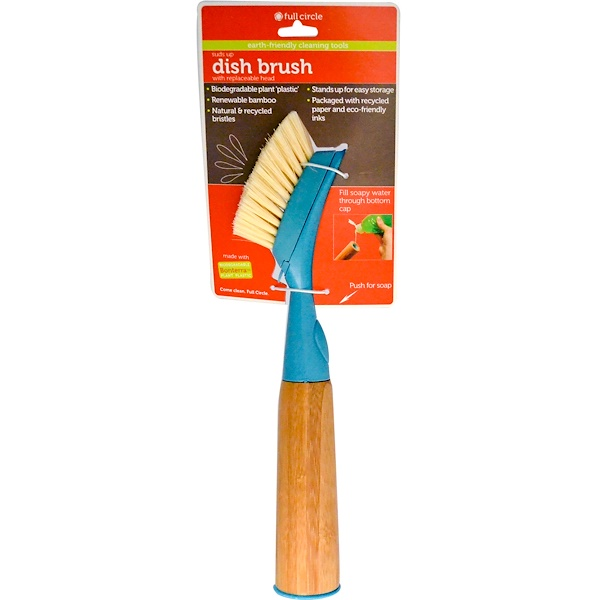 Full Circle, Suds Up, Dish Brush, with Replaceable Head (Discontinued Item)