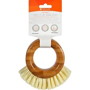 Фулл Серкл Хоум ЛЛС, The Ring, Veggie Brush, 1 Brush отзывы покупателей