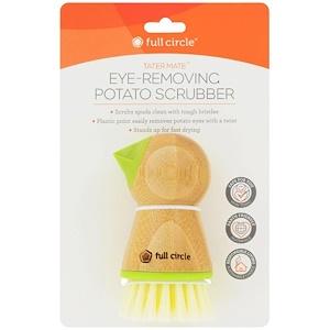 Фулл Серкл Хоум ЛЛС, Tater Mate, Eye-Removing Potato Scrubber, 1 Brush отзывы