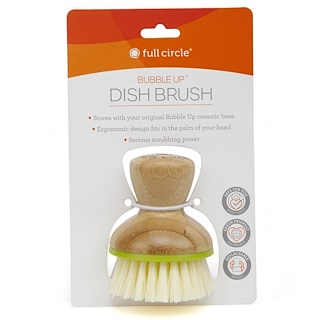 Full Circle, Bubble Up Dish Brush, 1 Brush