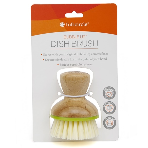 Full Circle, Bubble Up Dish Brush, 1 Brush (Discontinued Item)