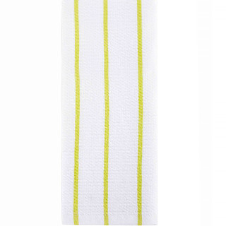 "Full Circle, Hue, Modern Kitchen Towels, Lime Stripes, 1 Towel, 15"" x 25"""