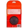 Full Circle, Sinksational, Sink Strainer with Pop-Out Stopper, Gray & White