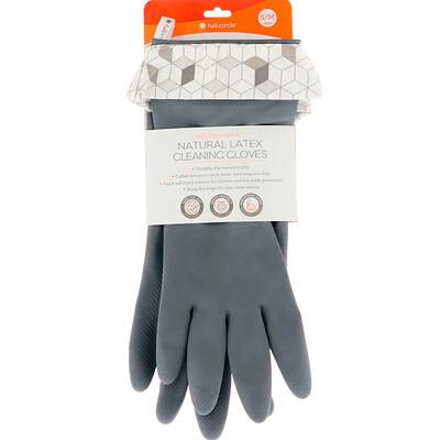 Купить Full Circle Splash Patrol, Natural Latex Cleaning Gloves, Grey, Size S/M