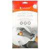 Full Circle, Splash Patrol, Natural Latex Cleaning Gloves, Gray, L, 1 Pair