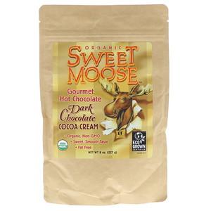 Фан Фреш фудс, Sweet Moose, Gourmet Hot Chocolate, Dark Chocolate Cocoa Cream, 8 oz (227 g) отзывы покупателей