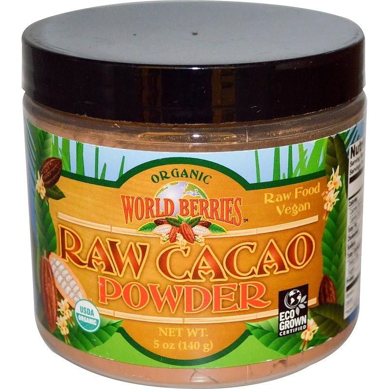 Organic, Raw Cacao Powder, 5 oz (140 g)