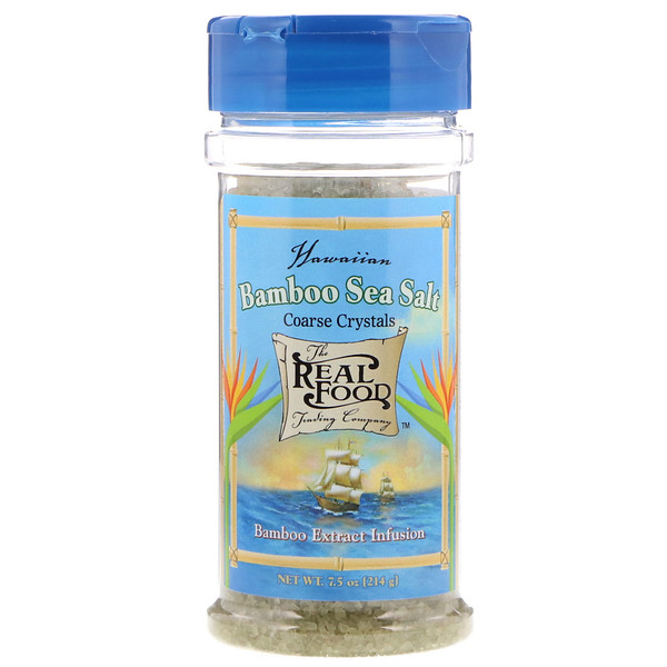 FunFresh Foods, Hawaiian Bamboo Sea Salt, 7.5 oz (214 g) (Discontinued Item)