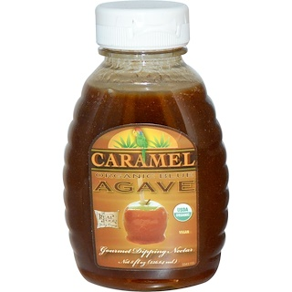 FunFresh Foods, Organic Blue Agave, Gourmet Dipping Nectar, Caramel, 8 fl oz (236.64 ml)
