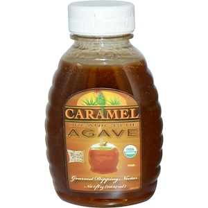 Фан Фреш фудс, Organic Blue Agave, Gourmet Dipping Nectar, Caramel, 8 fl oz (236.64 ml) отзывы покупателей