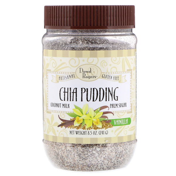 FunFresh Foods, Dowd & Rodgers, Chia Pudding, Vanilla, 8.5 oz (241 g) (Discontinued Item)