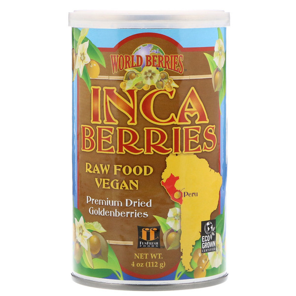 FunFresh Foods, World Berries, Inca Berries, 4 oz (112 g)