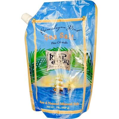 Купить Торговая компания The Real Food, Гималайская розовая морская соль, 2 фунта (909 г)