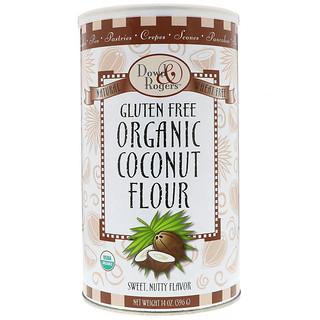 Fun Fresh Foods, Organic Coconut Flour, Gluten Free, 14 oz (396 g)
