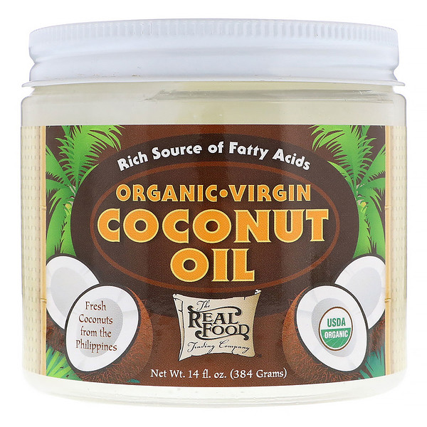 FunFresh Foods, Organic Virgin Coconut Oil, 14 fl oz (384 g) (Discontinued Item)