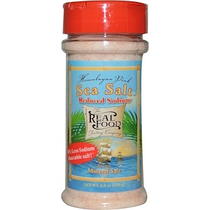 Фан Фреш фудс, The Real Food, Himalayan Pink Sea Salt, Reduced Sodium, 8.8 oz (250 g) отзывы