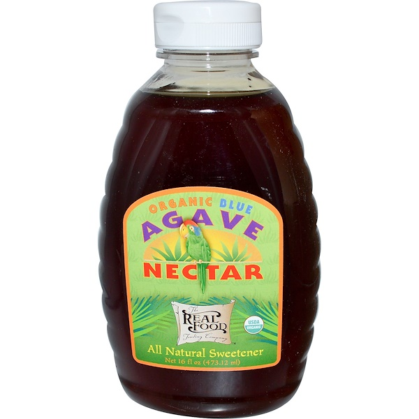 Fun Fresh Foods, Organic Blue Agave Nectar, 16 fl oz (473.12 ml) (Discontinued Item)
