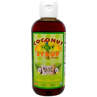 Fun Fresh Foods, Organic Coconut Syrup, Light Amber, 12 fl oz (354.84 ml)