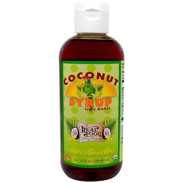 FunFresh Foods, Organic Coconut Syrup, Light Amber, 12 fl oz (354.84 ml) (Discontinued Item)