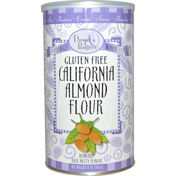 FunFresh Foods, Dowd & Rogers, Gluten Free California Almond Flour, 14 oz (396 g) (Discontinued Item)
