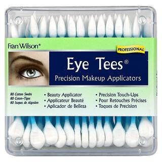Fran Wilson, Eye Tees, Precision Makeup Applicators, 80 Cotton Swabs