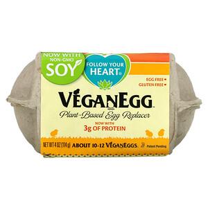 Follow Your Heart, Vegan Egg, 4 oz (114 g)