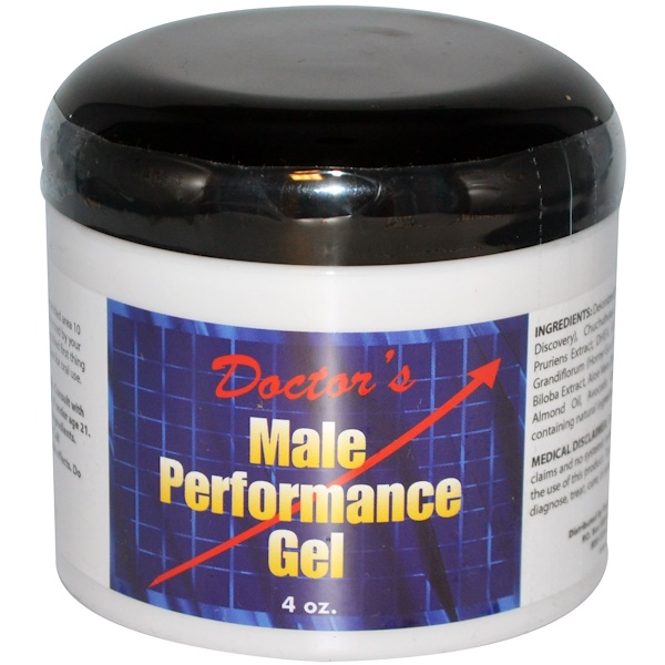 Fountain of Youth Technologies, Doctor's Male Performance Gel, 4 oz  (Discontinued Item)