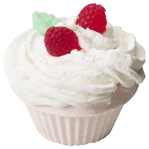 Smith & Vandiver, The Fizzy Baker, Cupcake Bath Fizz, Raspberry, 5.25 oz (148 g) (Discontinued Item)