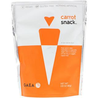 Gaea, Carrot Snack, 2.8 oz (80 g)