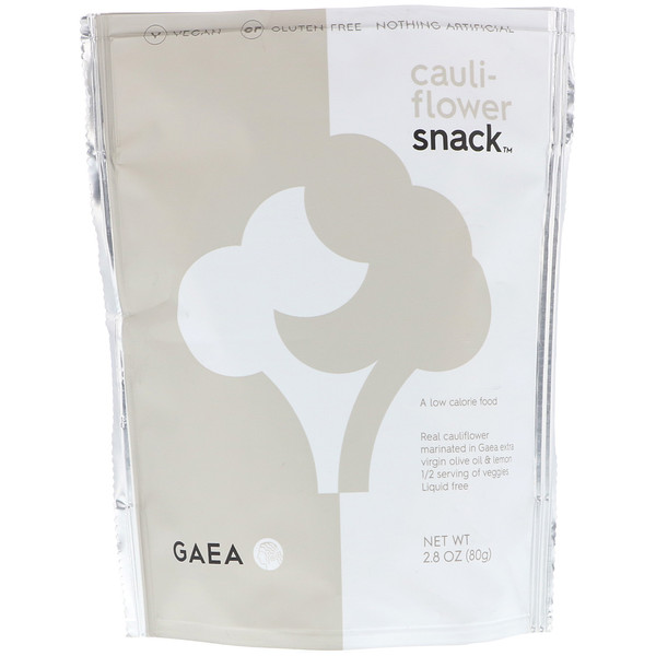 Gaea, Cauliflower Snack, 2.8 oz (80 g)