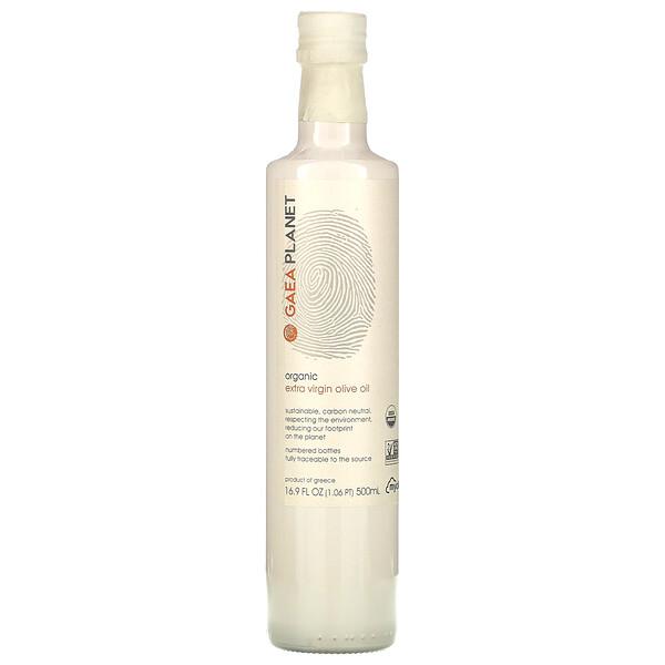 Gaea, Organic Extra Virgin Olive Oil, 16.9 fl oz (500 ml)