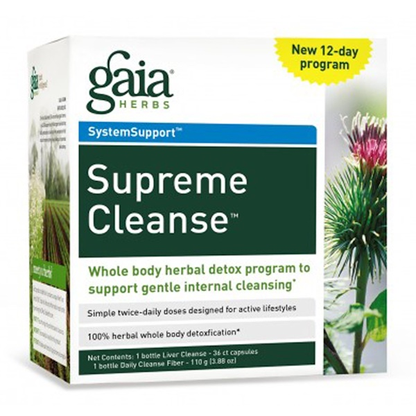Gaia Herbs, Supreme Cleanse, 12-Day Program (Discontinued Item)