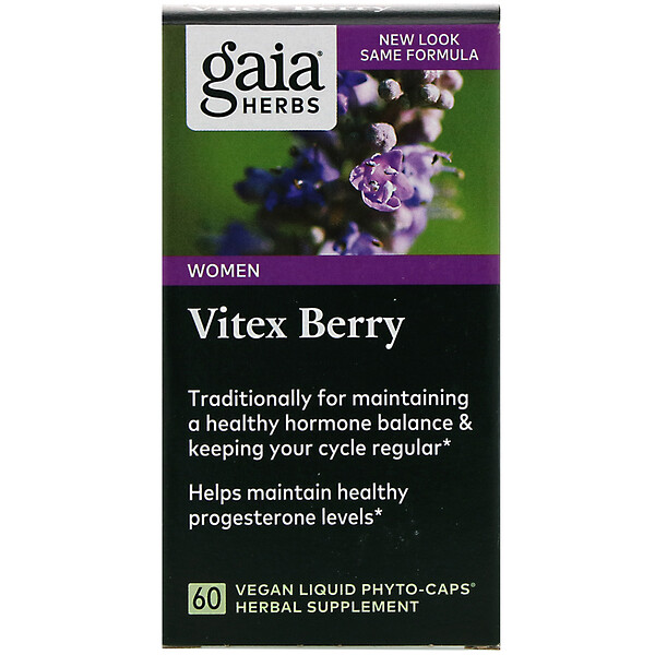 Vitex Berry, 60 Vegan Liquid Phyto-Caps