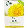 Gaia Herbs, 다이어트 슬림, 무 카페인, 티백 16개, 1.13oz (32g)