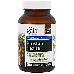 Gaia Herbs, Prostate Health, 120 Vegetarian Liquid Phyto-Caps