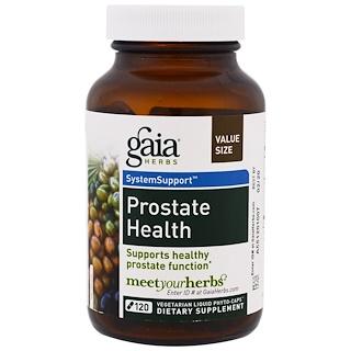 Gaia Herbs, Prostatagesundheit, 120 vegetarische Flüssig-Phyto-Kapseln