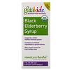 Gaia Herbs, Kids, Black Elderberry Syrup, Alcohol-Free Formula, 3 fl oz (89 ml)