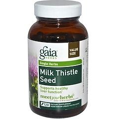 Gaia Herbs, Milk Thistle Seed, 120 Vegetarian Liquid Phyto-Caps