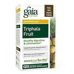 Gaia Herbs, Triphala Fruit, 60 Veggie Caps