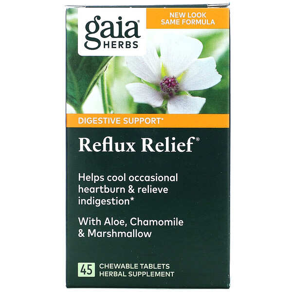 Reflux Relief, 45 Chewable Tablets