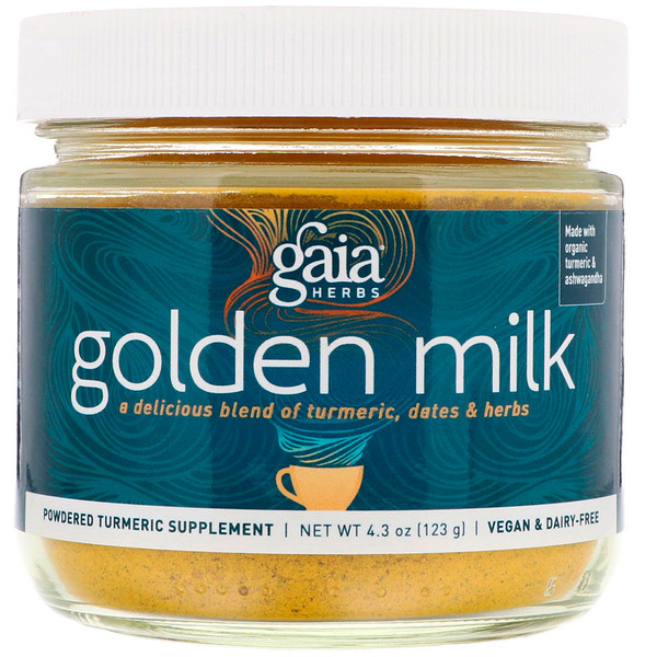 Gaia Herbs, Golden Milk, 4.3 oz (123 g)