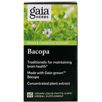 Bacopa, 60 Vegan Liquid Phyto-Caps - фото