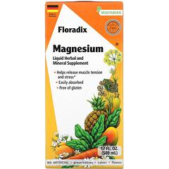 Gaia Herbs, Floradix,鎂,17 液量盎司(500 毫升)